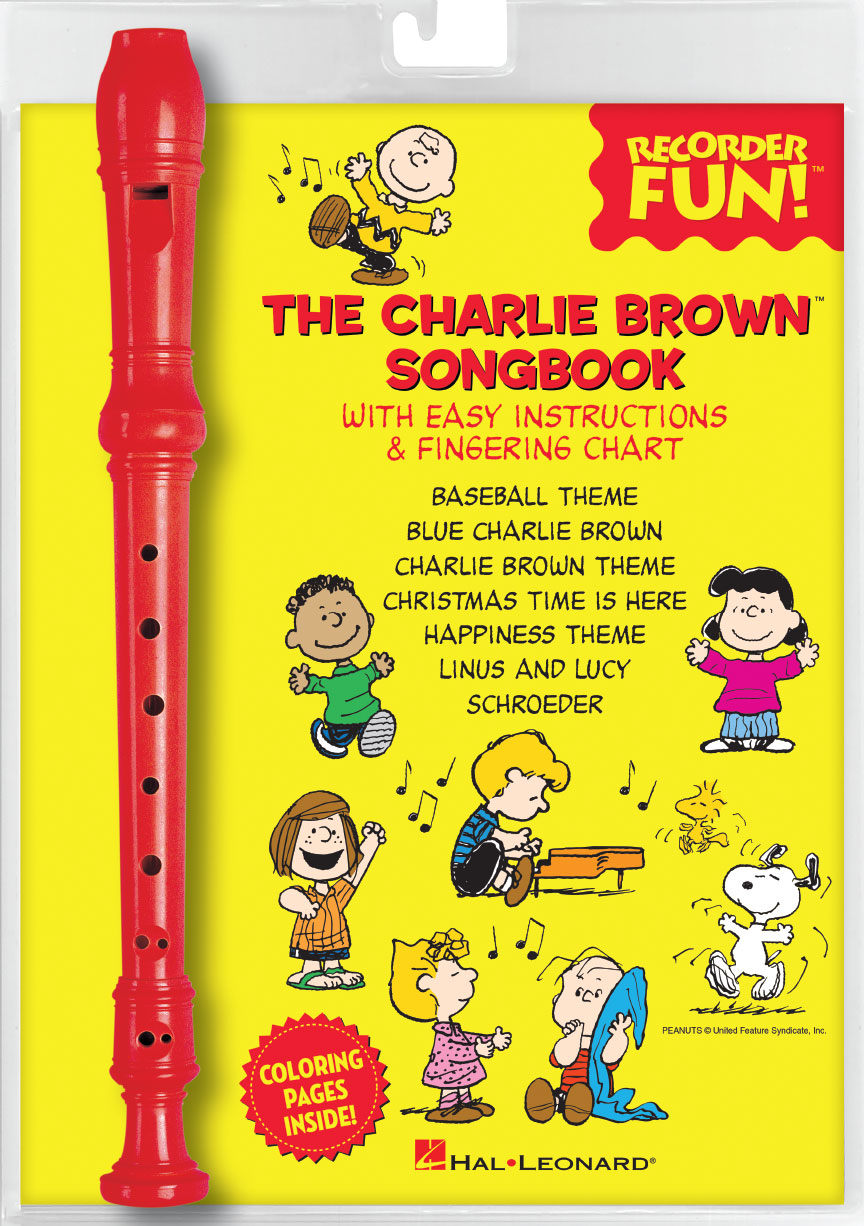 Product Cover for The Charlie Brown™ Songbook – Recorder Fun!