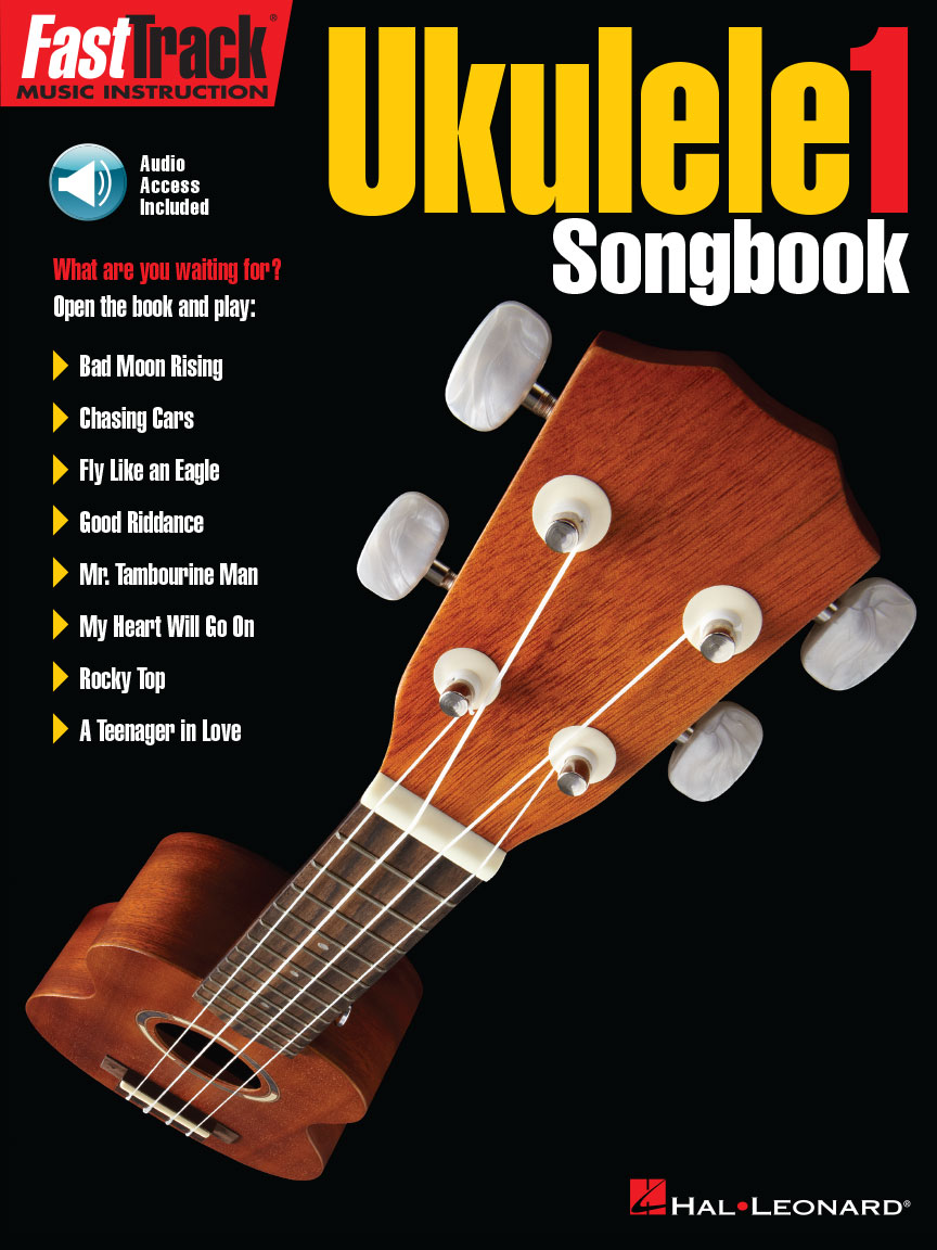 Product Cover for FastTrack Ukulele Songbook – Level 1