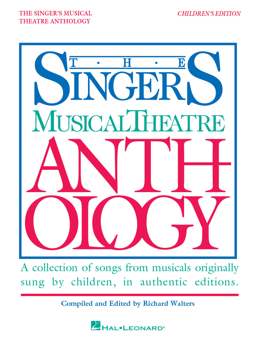 Product Cover for Singer's Musical Theatre Anthology – Children's Edition