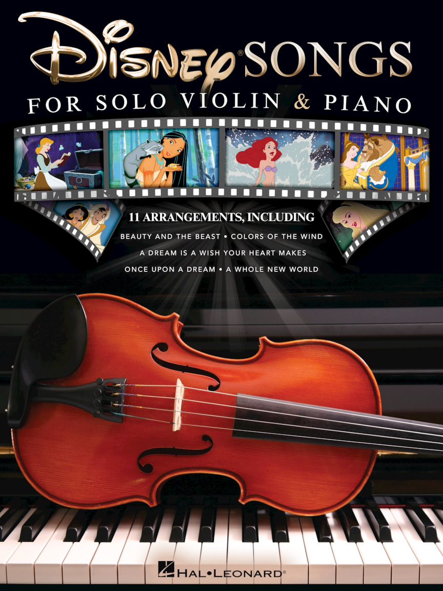 Product Cover for Disney Songs for Solo Violin & Piano