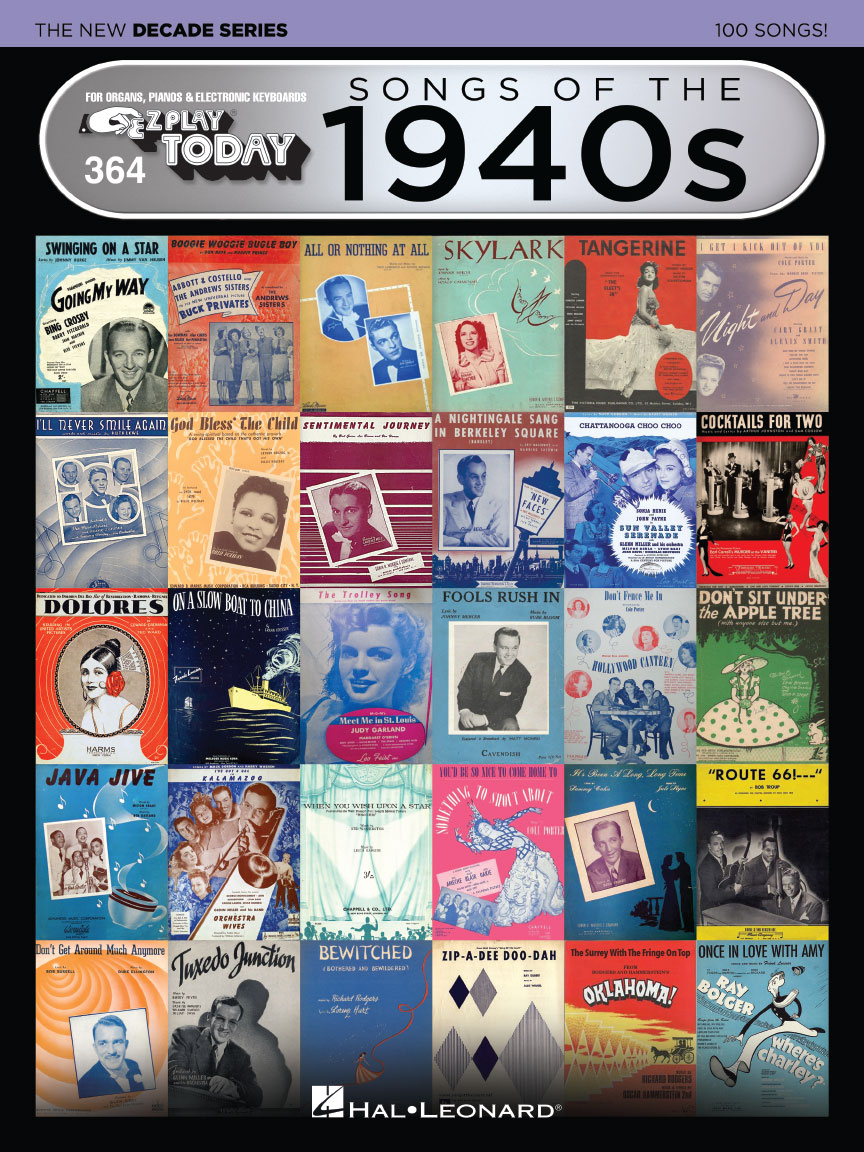 Product Cover for Songs of the 1940s – The New Decade Series