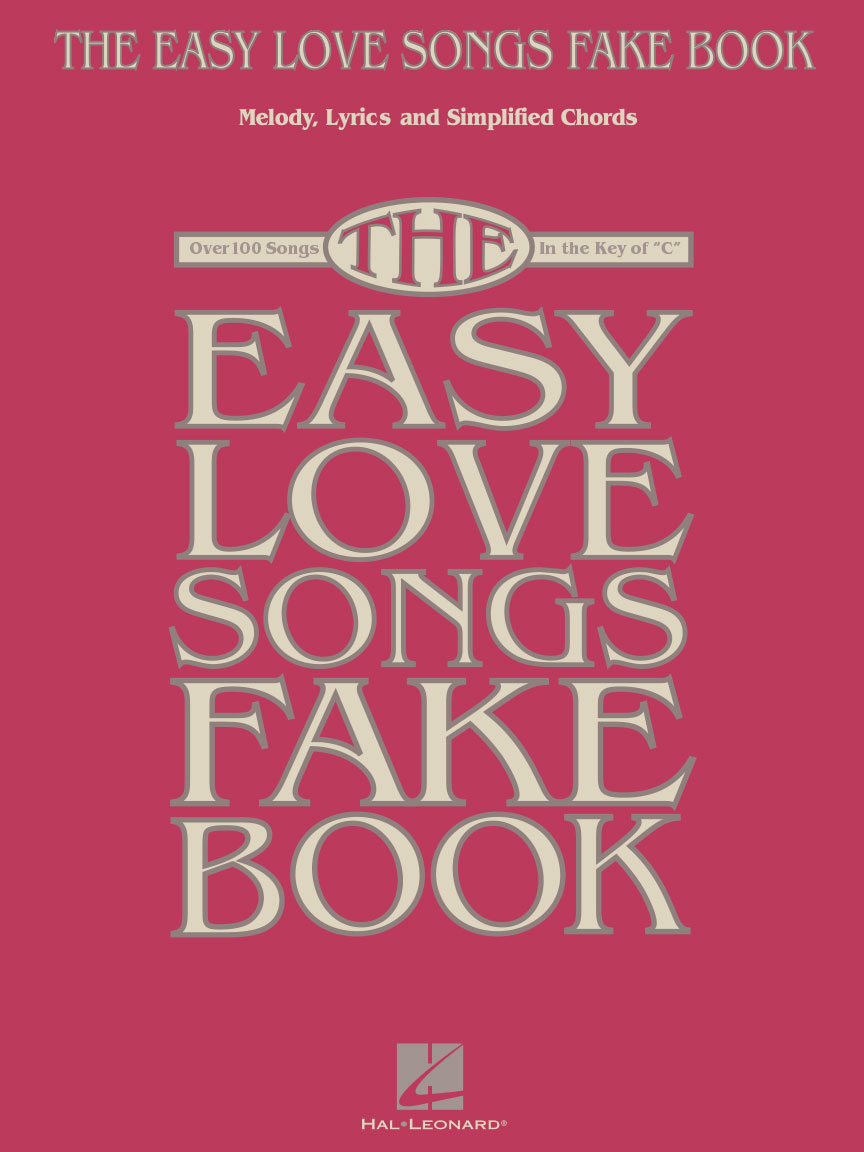 Product Cover for The Easy Love Songs Fake Book