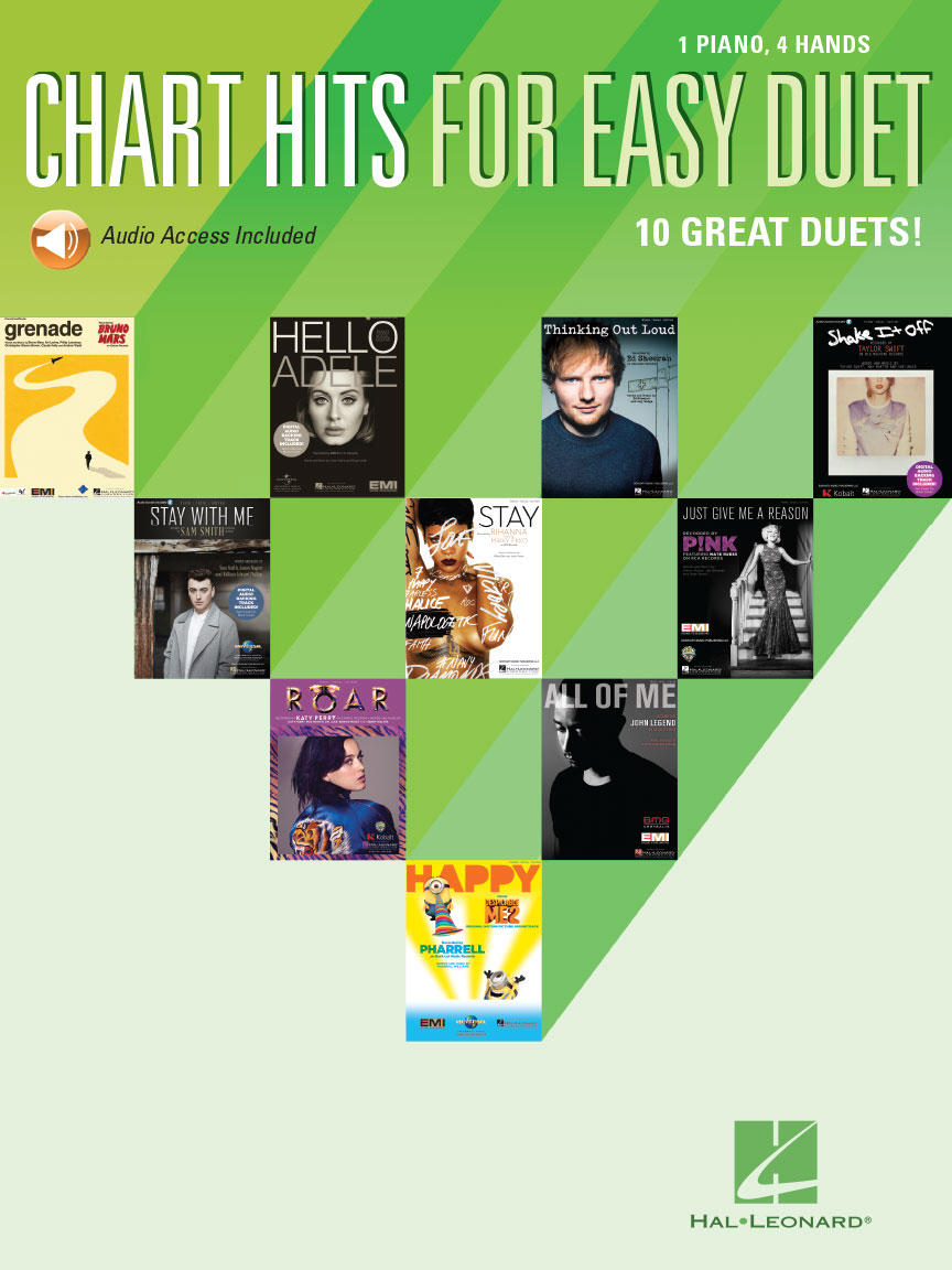 Product Cover for Chart Hits for Easy Duet
