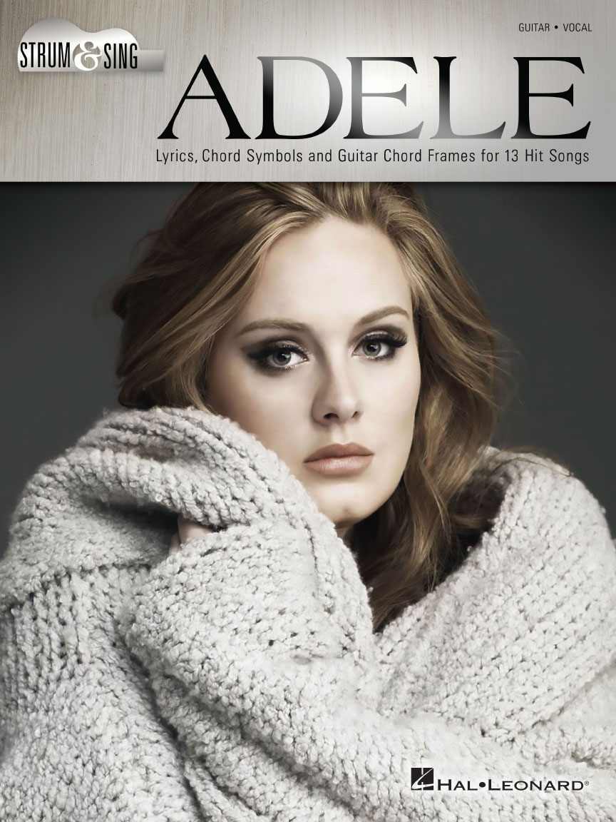 Product Cover for Adele – Strum & Sing Guitar