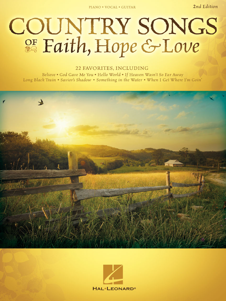 Product Cover for Country Songs of Faith, Hope & Love – 2nd Edition