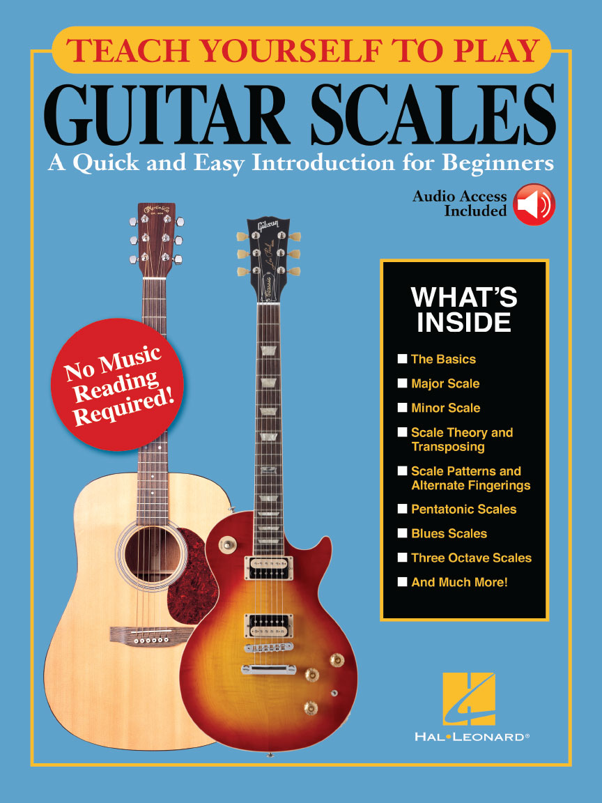 Product Cover for Teach Yourself to Play Guitar Scales