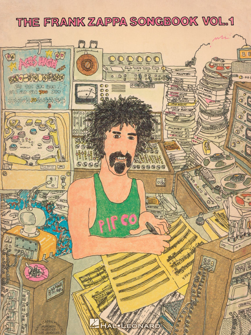 Product Cover for The Frank Zappa Songbook – Volume 1