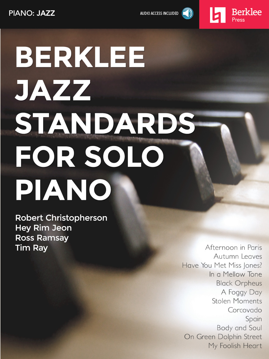 Product Cover for Berklee Jazz Standards for Solo Piano