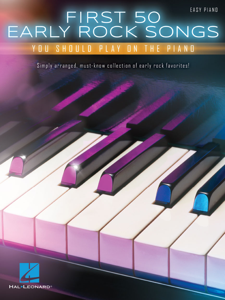 Product Cover for First 50 Early Rock Songs You Should Play on the Piano