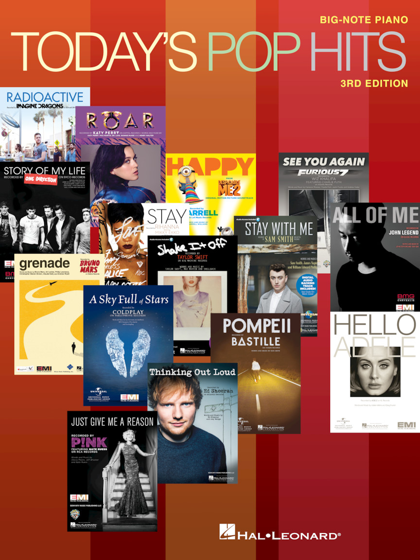 Product Cover for Today's Pop Hits – 3rd Edition