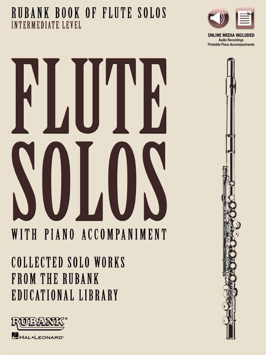 Product Cover for Rubank Book of Flute Solos – Intermediate Level