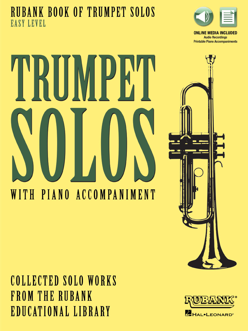 Product Cover for Rubank Book of Trumpet Solos – Easy Level