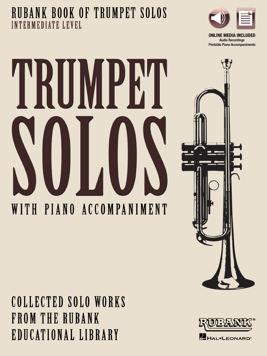 Product Cover for Rubank Book of Trumpet Solos – Intermediate Level
