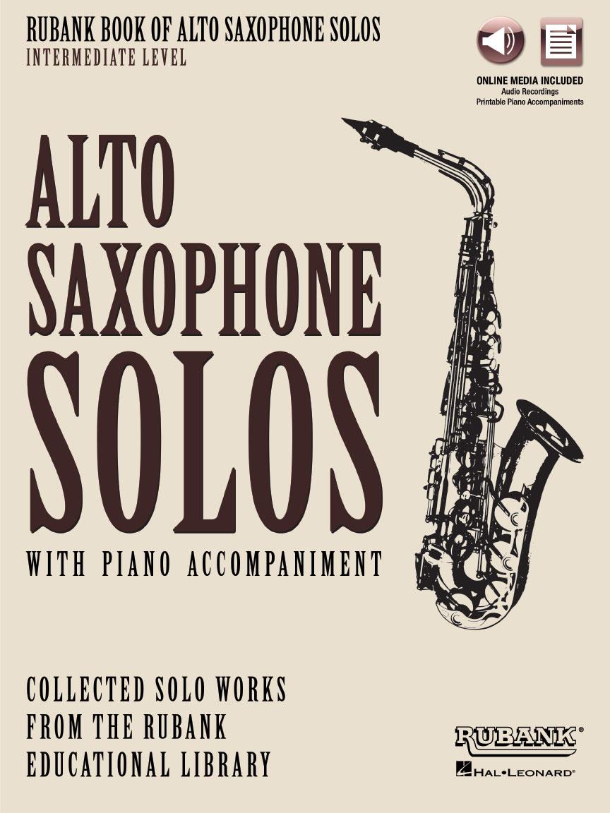 Rubank Book of Alto Saxophone Solos – Intermediate Level