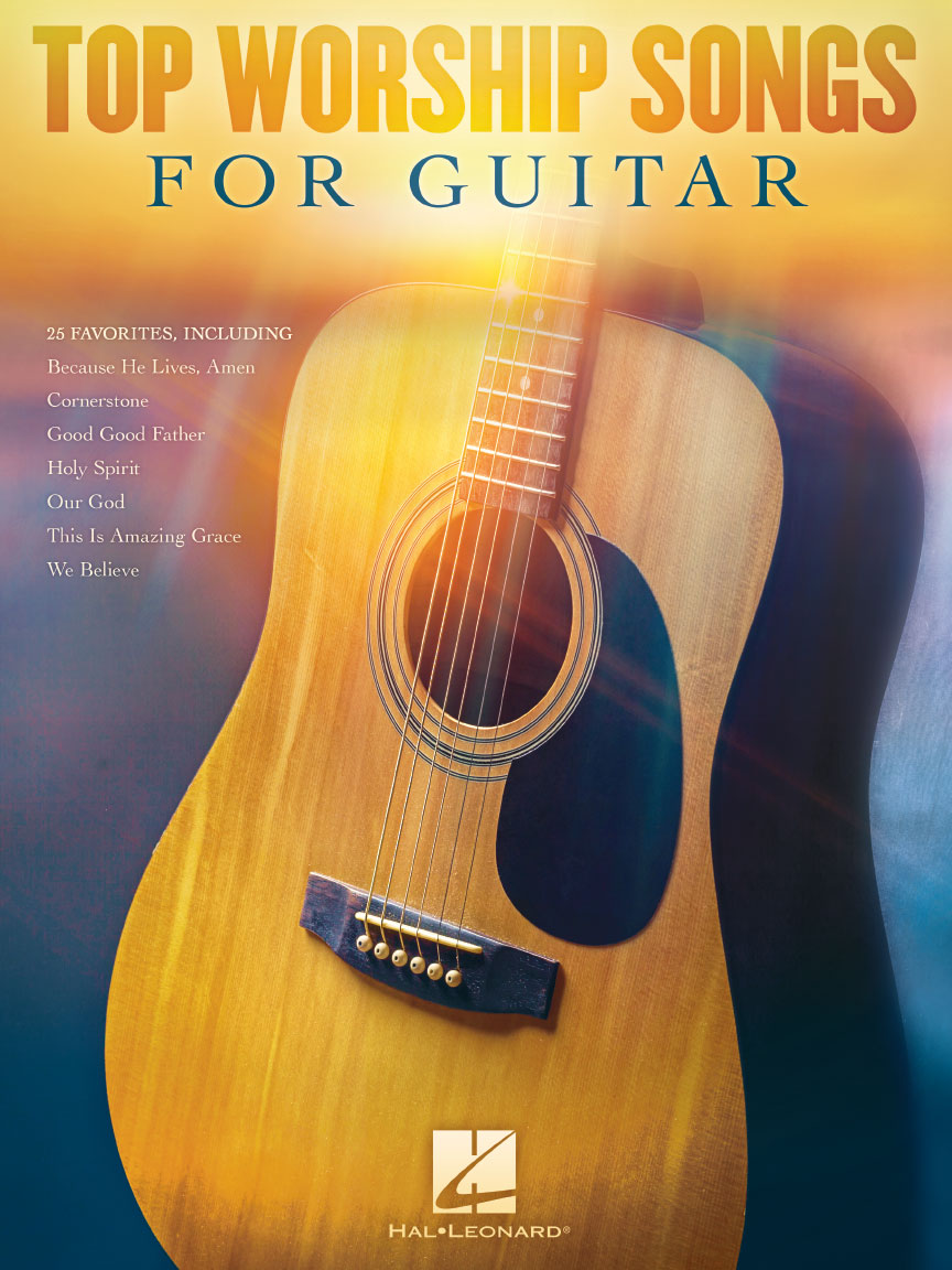 Product Cover for Top Worship Songs for Guitar