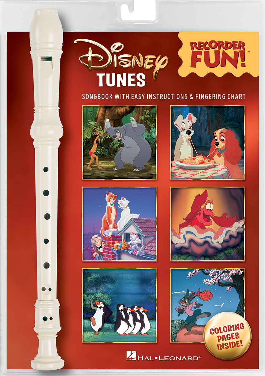 Product Cover for Disney Tunes – Recorder Fun!