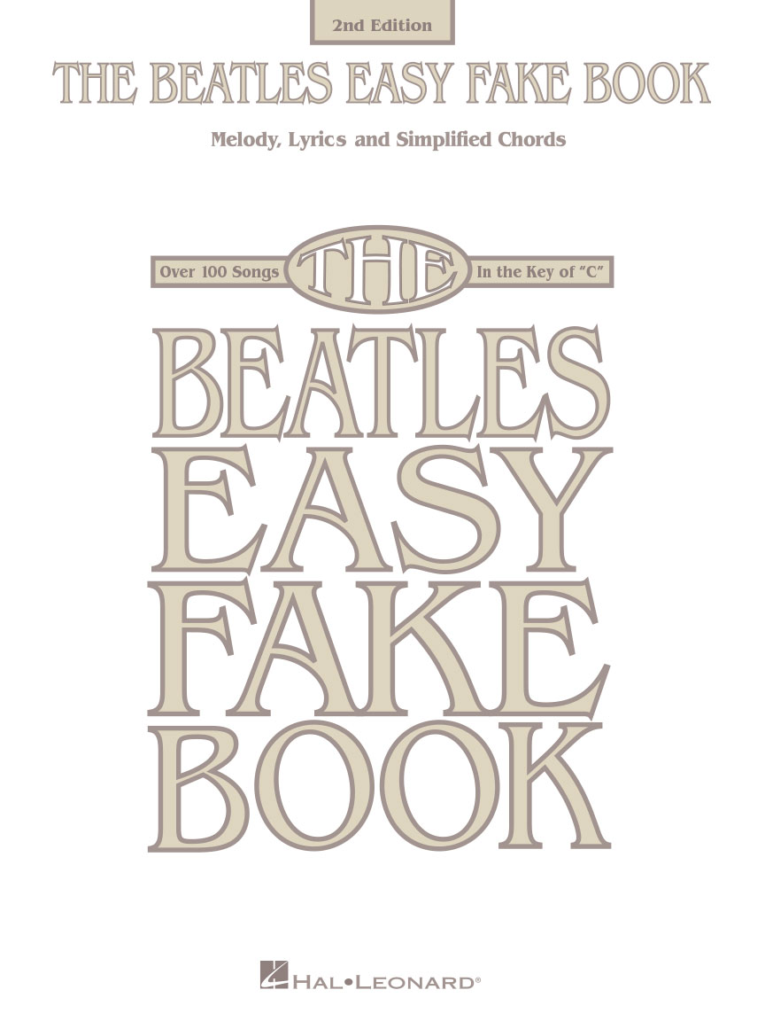 Product Cover for The Beatles Easy Fake Book – 2nd Edition