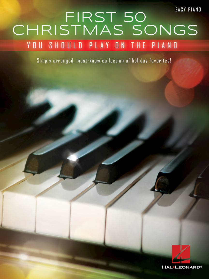 Product Cover for First 50 Christmas Songs You Should Play on the Piano