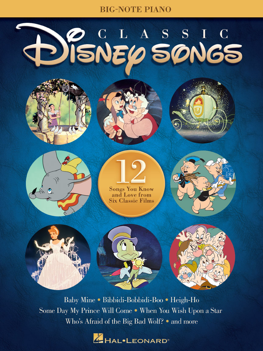 Product Cover for Classic Disney Songs