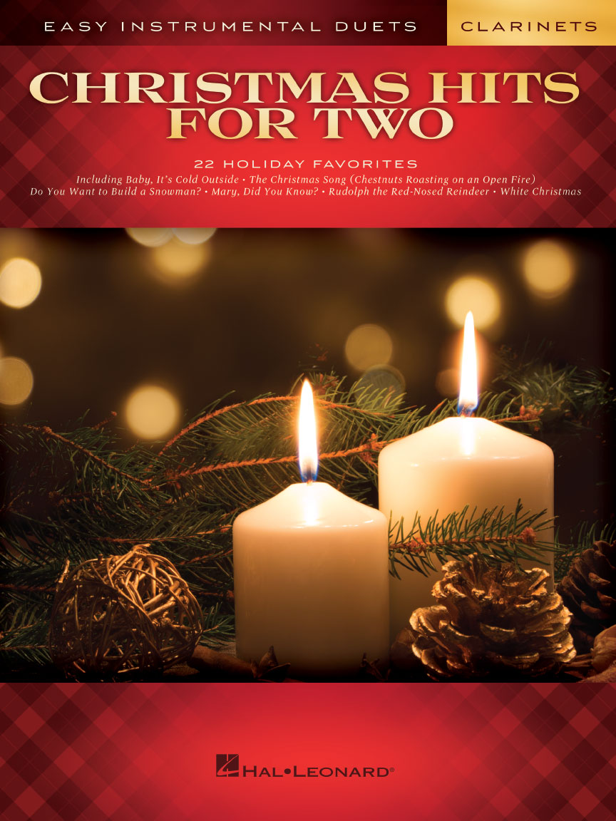 Product Cover for Christmas Hits for Two Clarinets