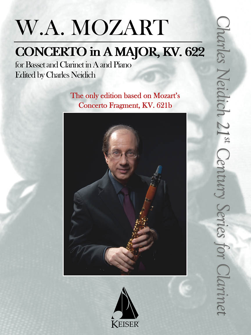 Product Cover for Clarinet Concerto, K. 622