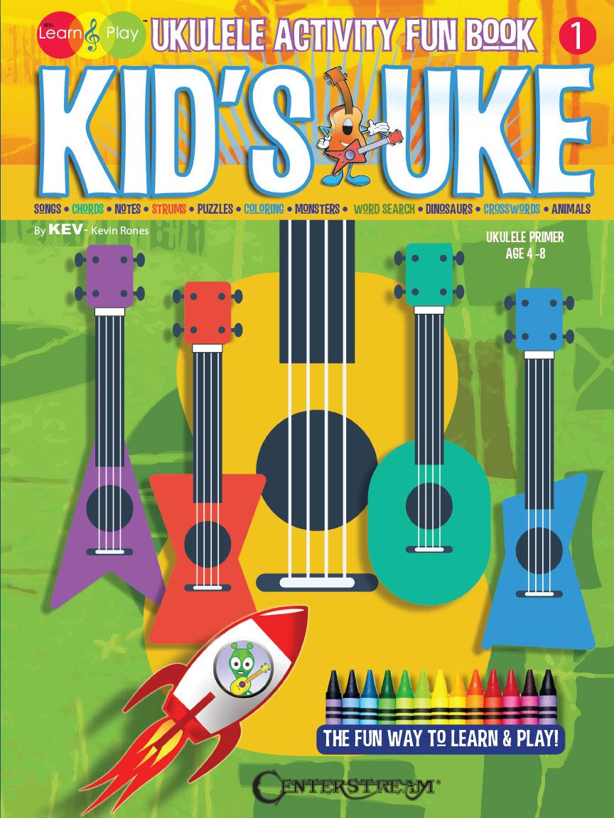 Product Cover for Kid's Uke – Ukulele Activity Fun Book