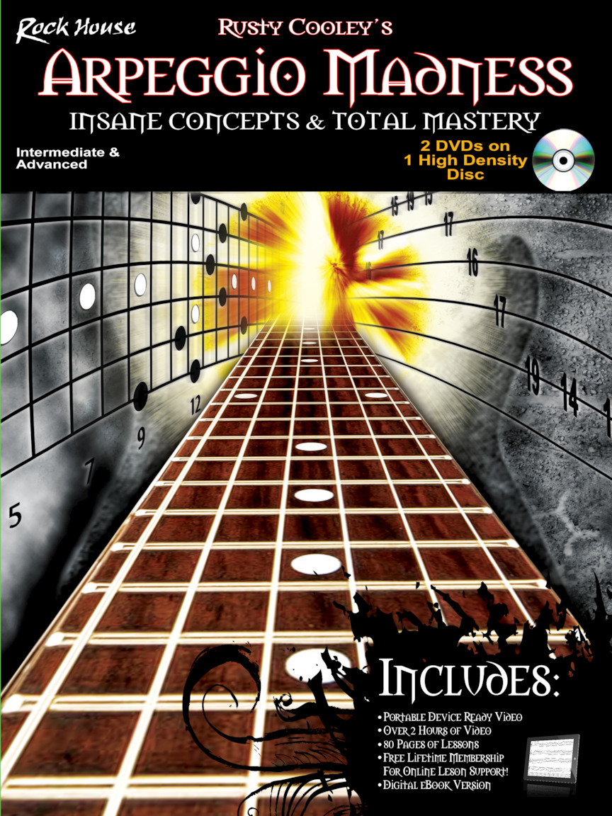 Product Cover for Arpeggio Madness – Insane Concepts & Total Mastery