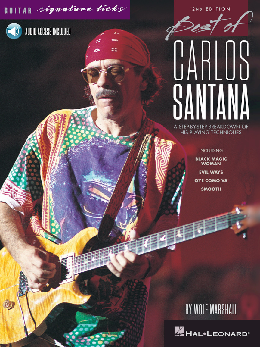 Product Cover for Best of Carlos Santana – Signature Licks – 2nd Edition