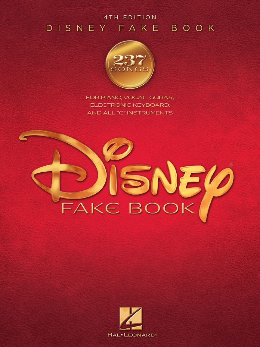 The Disney Fake Book – 4th Edition