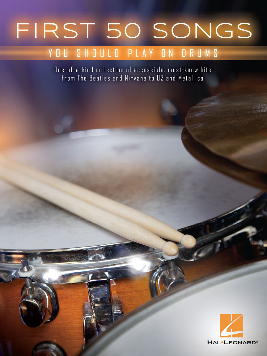 Product Cover for First 50 Songs You Should Play on Drums