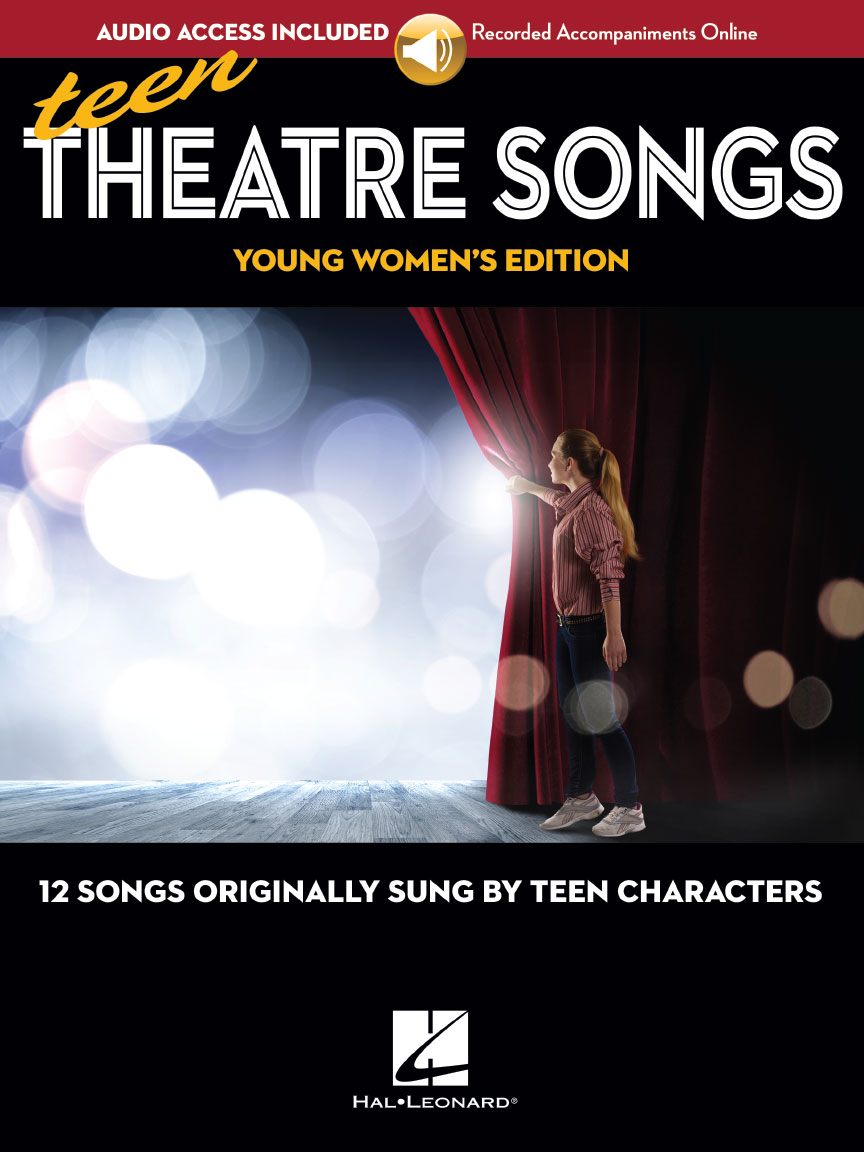Product Cover for Teen Theatre Songs: Young Women's Edition – Book/Online Audio