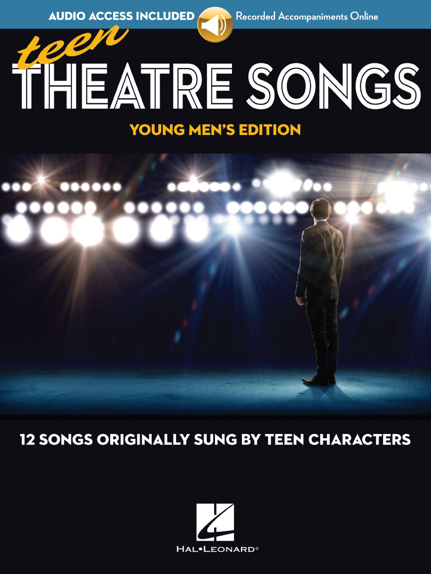 Product Cover for Teen Theatre Songs: Young Men's Edition – Book/Online Audio