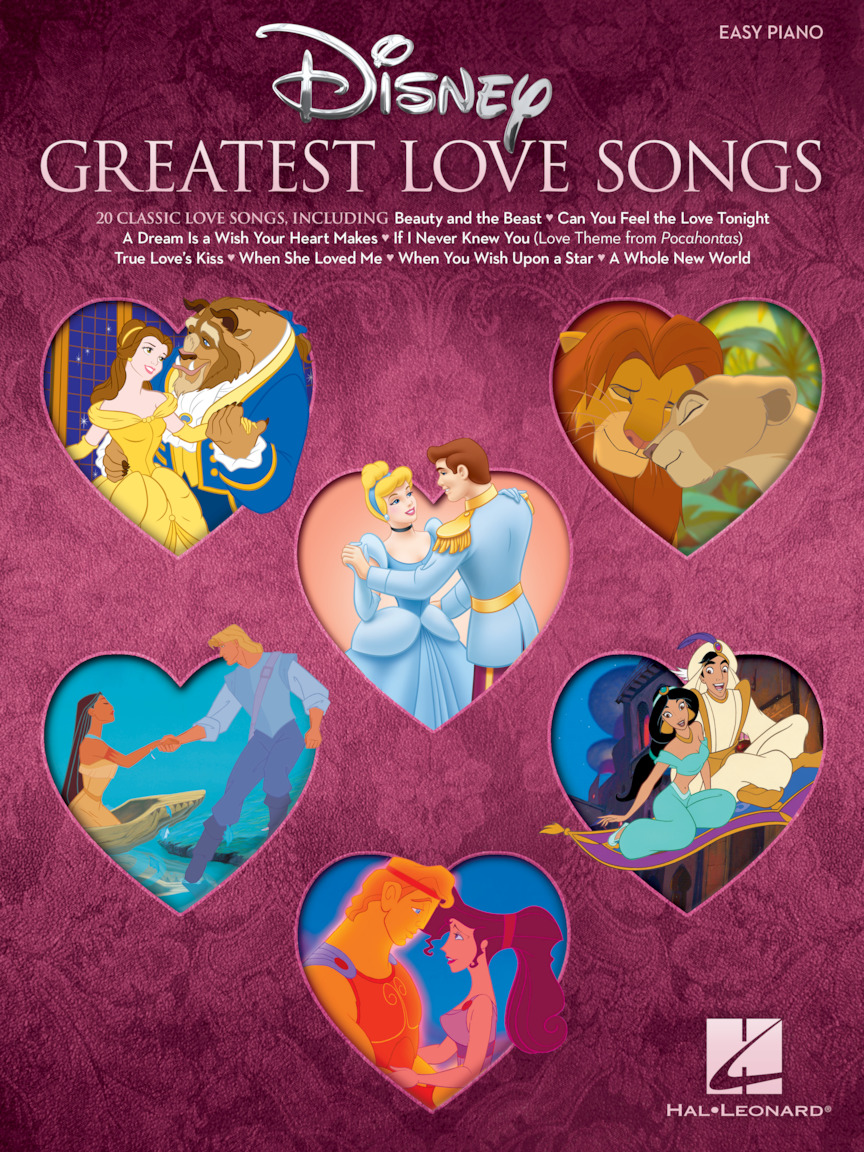 Product Cover for Disney Greatest Love Songs