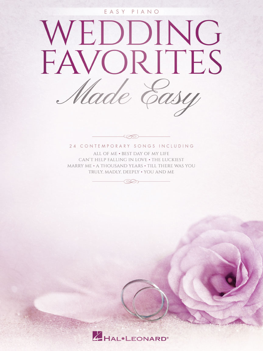 Product Cover for Wedding Favorites Made Easy
