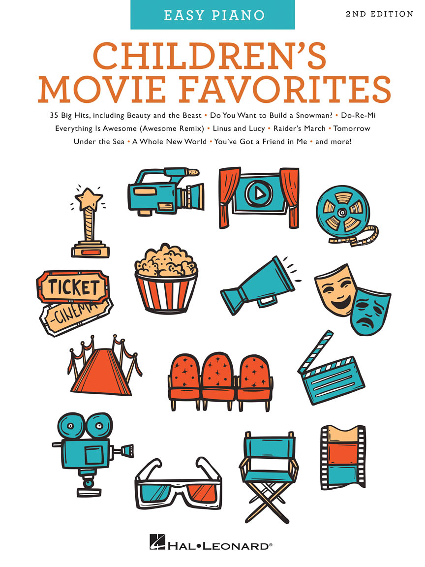 Product Cover for Children's Movie Favorites – 2nd Edition
