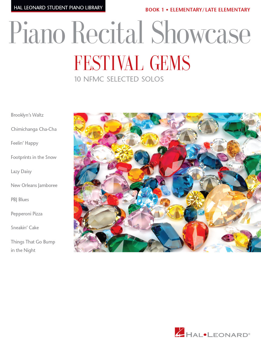 Product Cover for Festival Gems Book 1 – 10 Outstanding NFMC Elementary/Late Elementary Solos