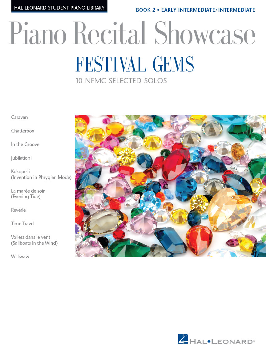 Festival Gems Book 2 – 10 Outstanding NFMC Early Intermediate/Intermediate Solos