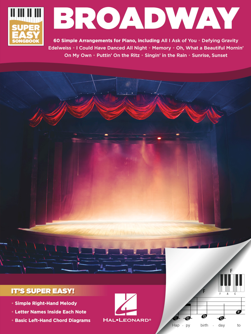 Product Cover for Broadway – Super Easy Songbook