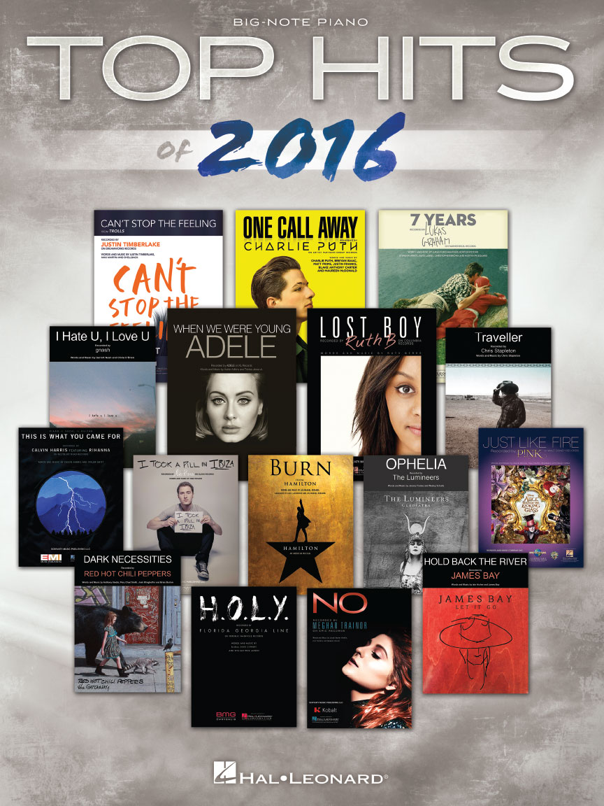 Product Cover for Top Hits of 2016