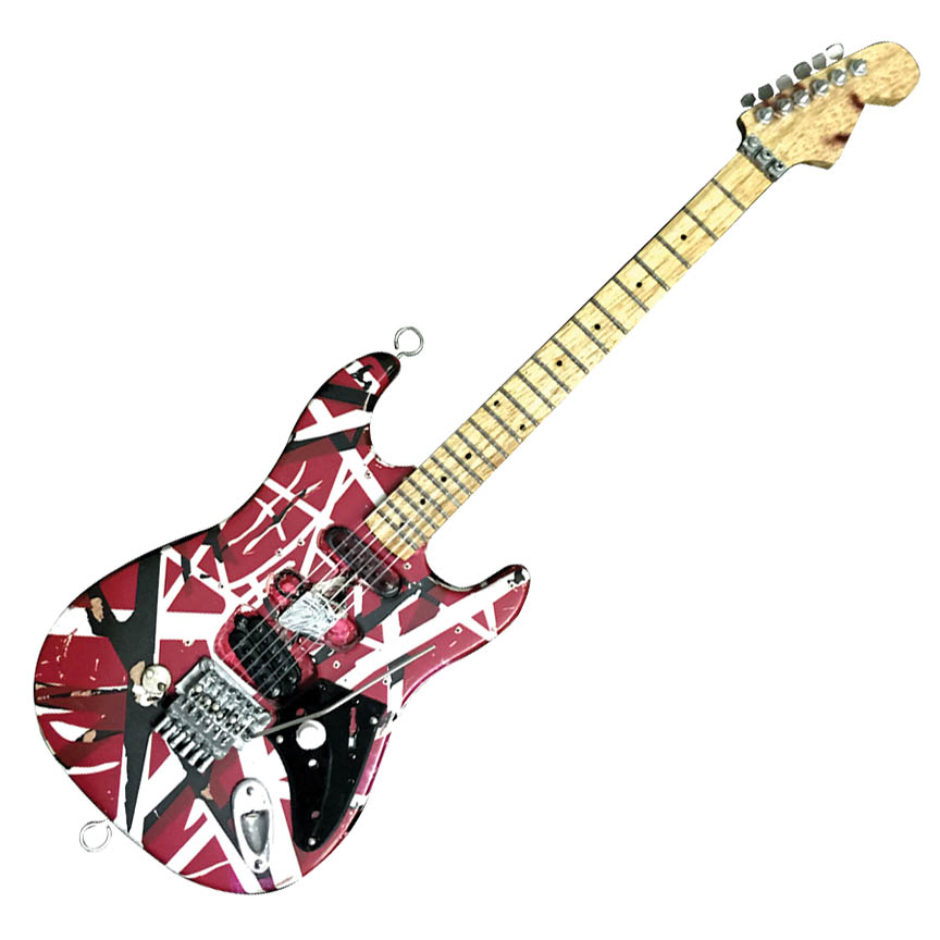 Product Cover for Frankenstein Miniature Replica Guitar – Official EVH Merchandise