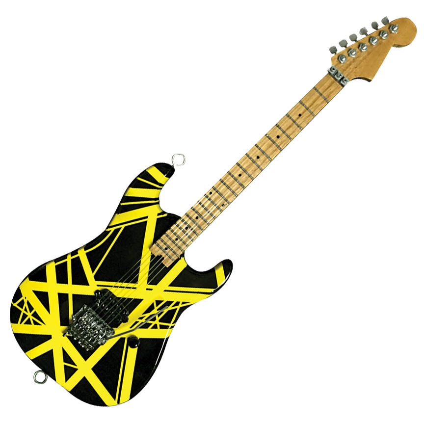 Product Cover for Bumblebee (VH2) Miniature Replica Guitar – Official EVH Merchandise