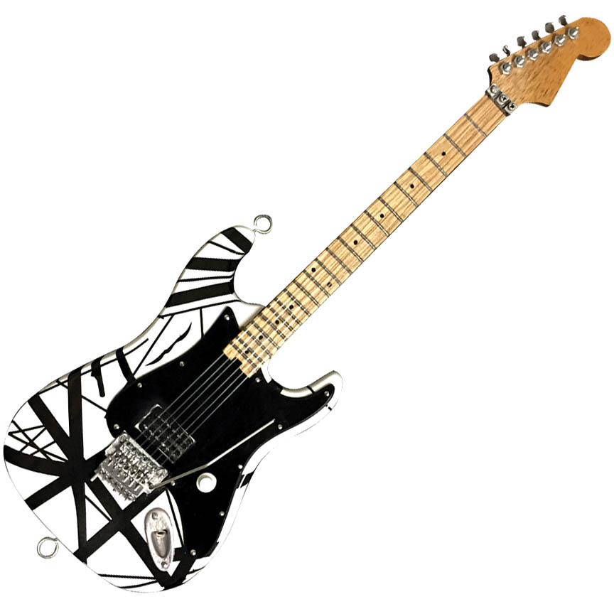 """Product Cover for Original """"Franky"""" Miniature Replica Guitar – Official EVH Merchandise"""