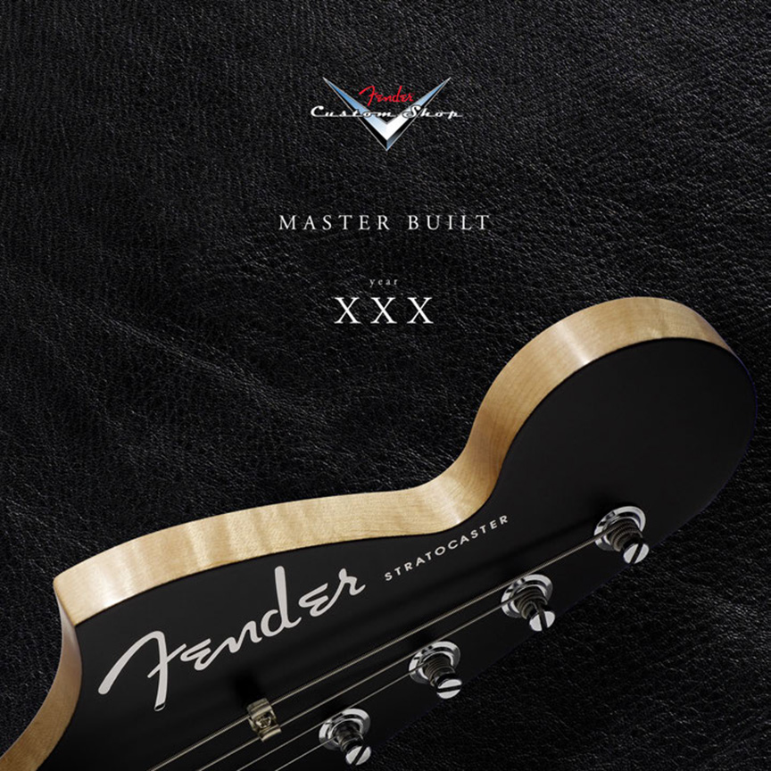 Product Cover for Fender Custom Shop at 30 Years