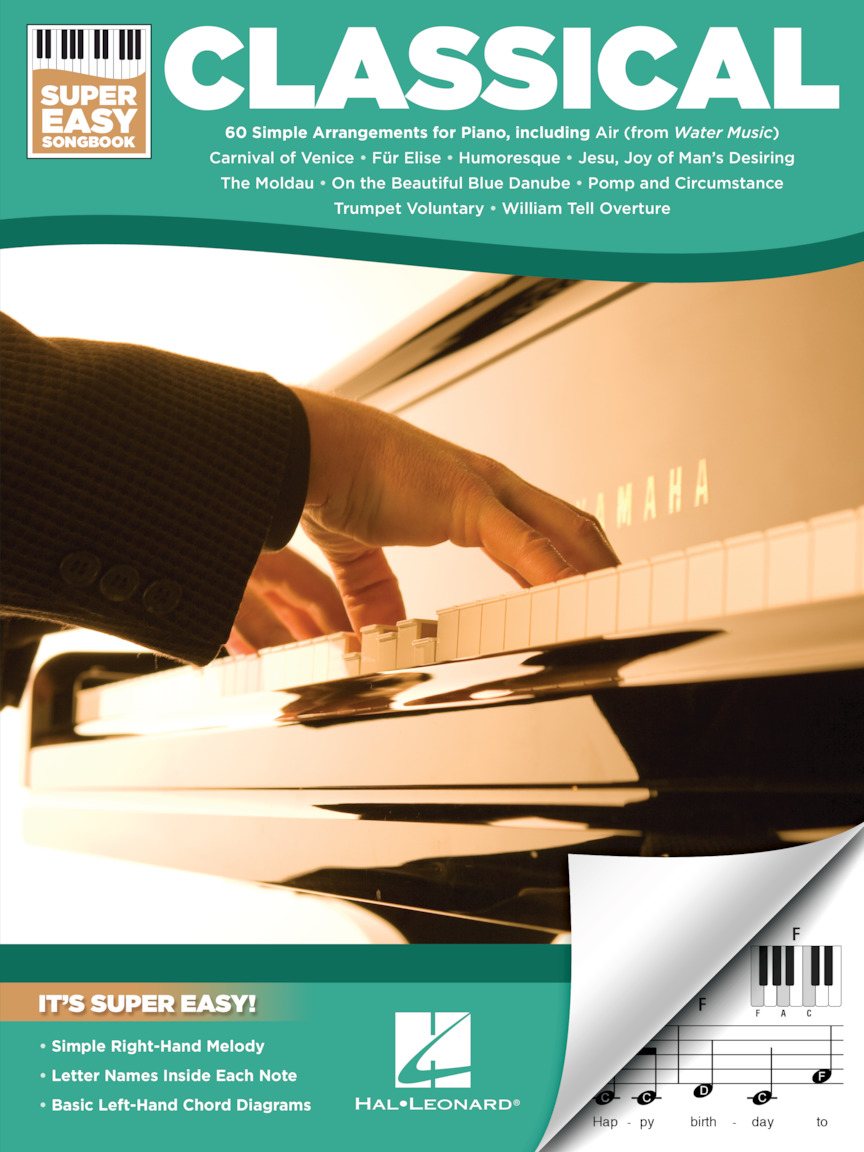 Product Cover for Classical – Super Easy Songbook