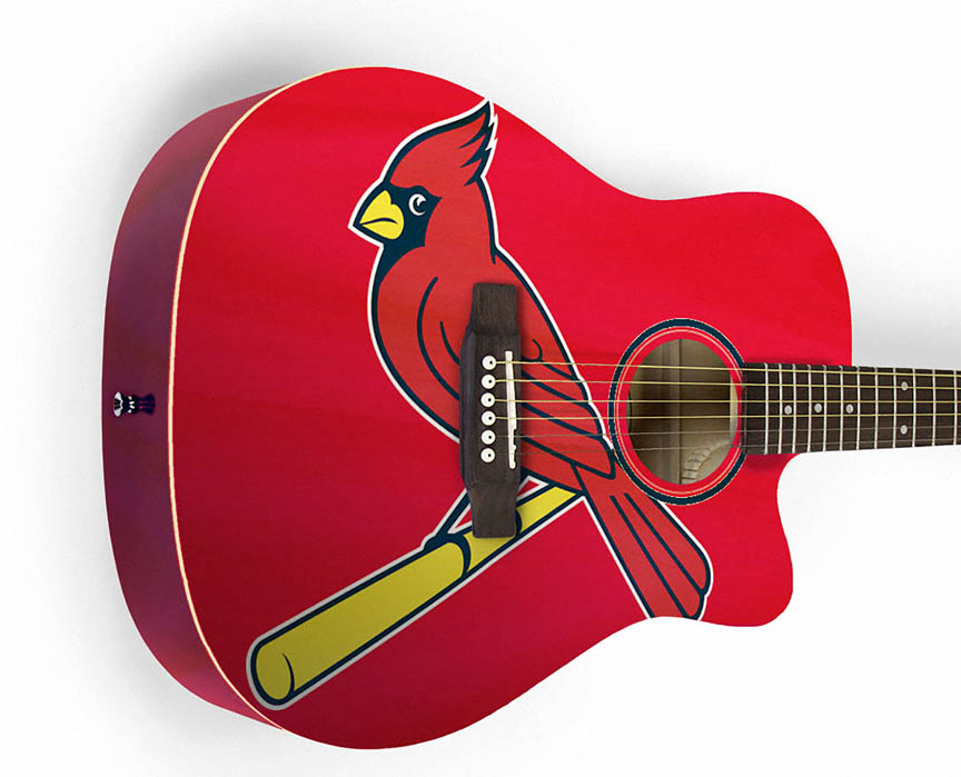 Product Cover for St. Louis Cardinals Acoustic Guitar