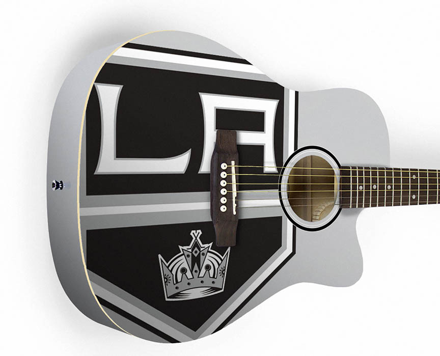Product Cover for Los Angeles Kings Acoustic Guitar