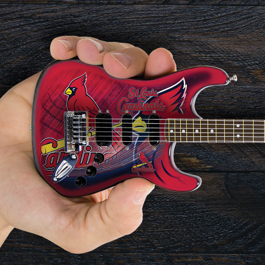 """Product Cover for St. Louis Cardinals 10"""" Collectible Mini Guitar"""