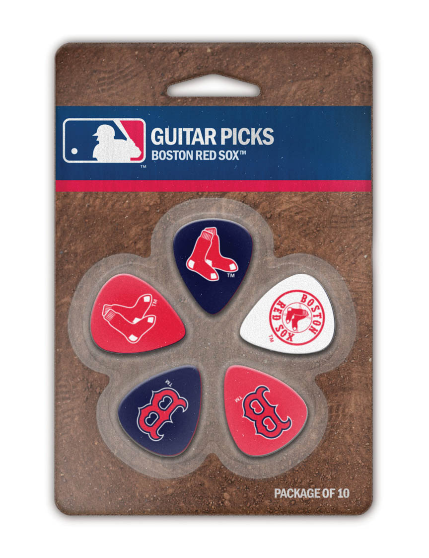 Product Cover for Boston Red Sox Guitar Picks