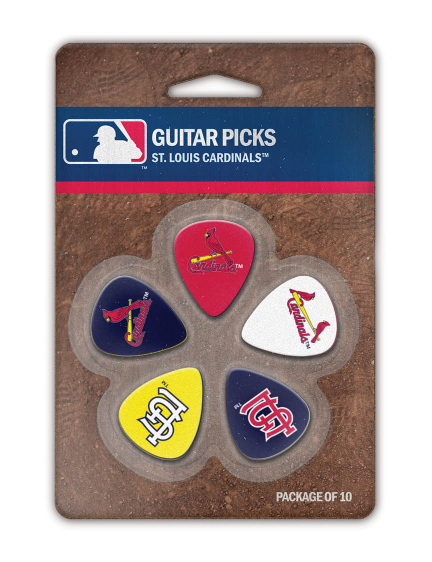 Product Cover for St. Louis Cardinals Guitar Picks
