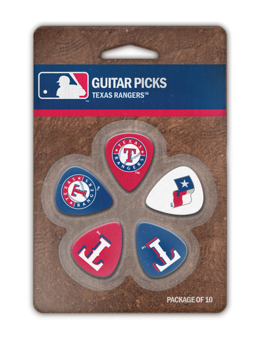 Product Cover for Texas Rangers Guitar Picks